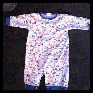 One piece infant pjs